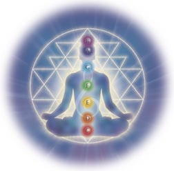 A picture showing chakras.